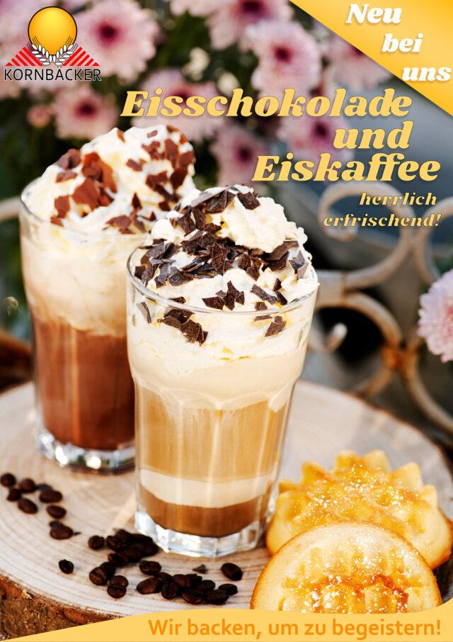 Eiskaffee und Eisschokolade Iced Coffee