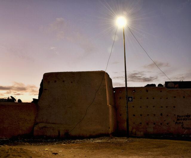 Marokko Mauer Stadtmauer Marrakesch Afrika Africa Nord