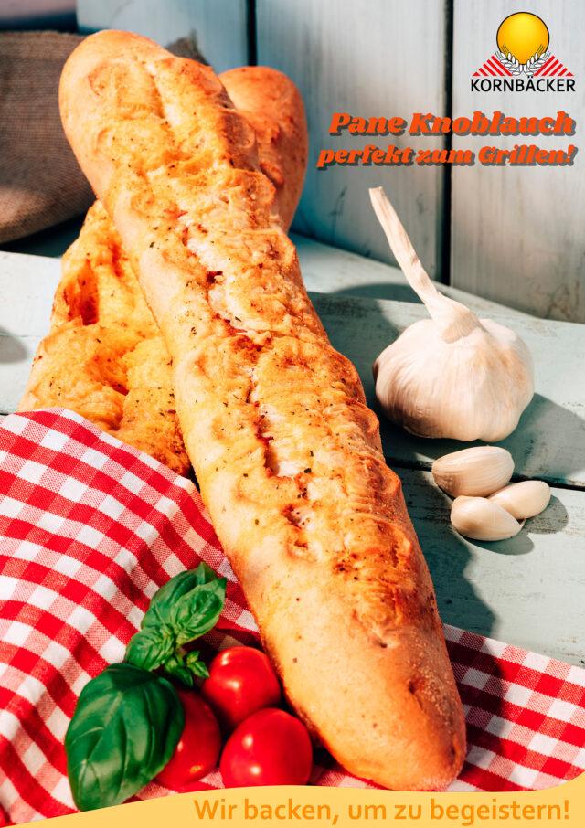 Kloblauchbrot Garlic Brot Grillen Plakat Bread Baguette