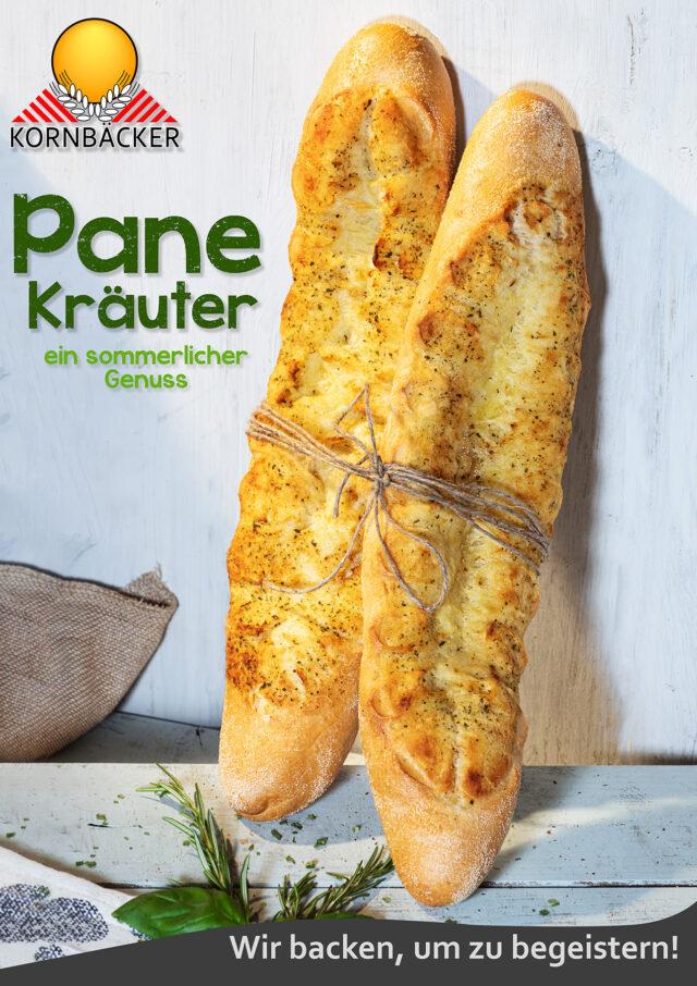 Baguette Pane Kräuter Grillen Sommer Leichtigkeit Küche Kochen Lifestyle